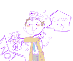 but the kittens Dean! by M0nzteer