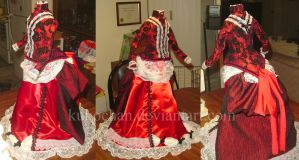Half-Scale Victorian Dress by kukochan