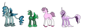 MLP Mixed Species Adopts [1 LEFT] by KatPocketMonster