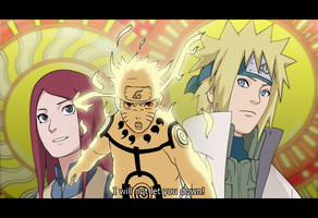 Naruto's two suns by ForiegnBacon