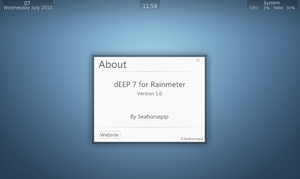 dEEP 7 Rainmeter by Seahorsepip
