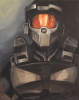 The Master Chief by Stilltsinc