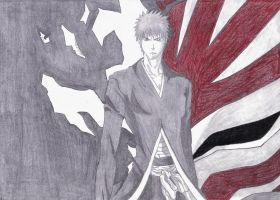 Ichigo- Bankai- Hollow Mask V-1.1 by Caedus6685