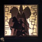 Twilight Princess Paper Lightbox (Tutorial) by studioofmm