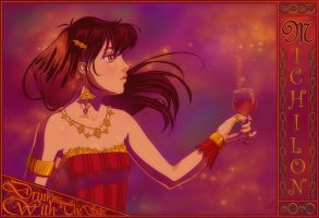 Wine and Gold by thienbao