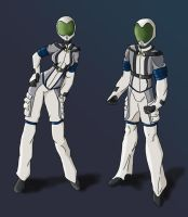 New Space Suit Design for WC by Ielle77