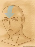 Aang by GaialeiStrife