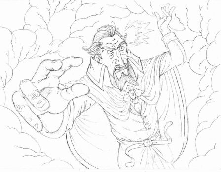 Dr.Orpheus...IN ACTION pencils by iso36