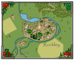 Das Dorf Rockley - Rockley Village by DarthAsparagus