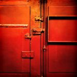 Red Door by Pierre-Lagarde