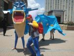 Gyarados and Trainer Cosplay by AnimeDragon910