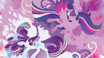 Rainbow Power: Twilight Sparkle and Rarity by SpaceKitty