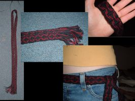 Tablet Woven Belt by Panther-Nora