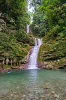 Jungle Waterfall Stock by little-spacey