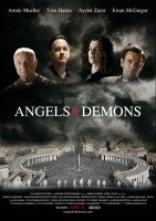 Angels and DEMONS POSTER by onurb-design
