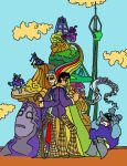 (Recolored) Doctor Who - Yellow Submarine by systemcat