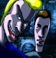 Beavis and Butthead Horror Picture by MDTartist83