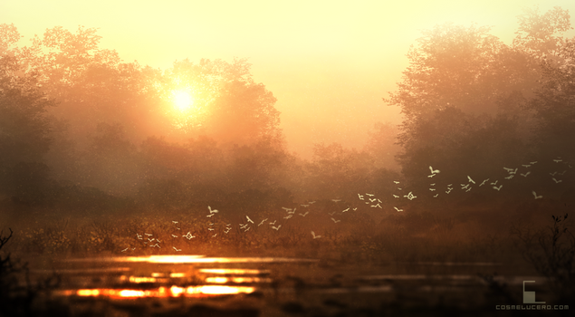 Epic Sunlight 3 by Aeflus