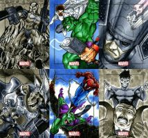 Marvel Heroes and Villains 19 by RichardCox