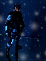 Play Arts Kai - MGS - Solid Snake by 0PT1C5