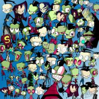 _.Invader Zim Collage._ by Metros2soul
