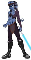Aayla Secura by Hidden-Traveler