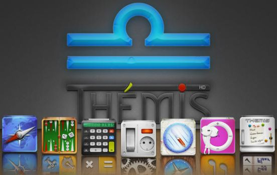 Themis a theme for your iPhone by ulysseleviet
