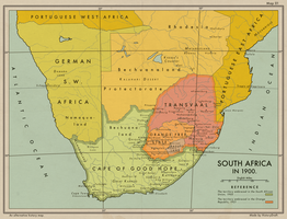 An alternate South Africa and the Orange Republic by HistoryDraft