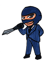 Chibi Spy by FullmetalDevil