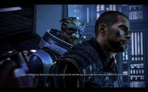 ME3 Normandy - Alan Shepard and Garrus 6 by chicksaw2002