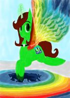 Make my Oc At Lake of crystal ider 2 by daylover1313