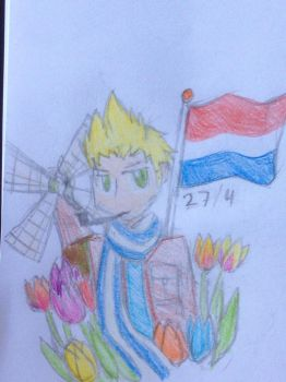Happy birthday Netherlands  by emilyldraws0303