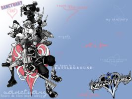 KH2 Wallie by xMoosiex
