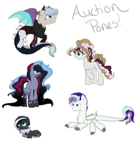 Auction Pones Large Batch :: CLOSED by AlawDulac