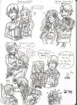 FE: Valentines Day (With husbands and son) by n-trace