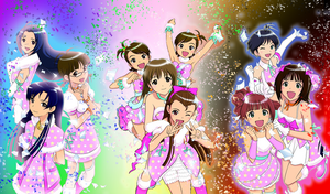 iDOLMASTER SP Wallpaper by iTiffanyBlue