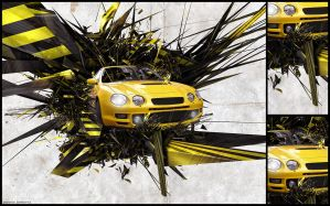car abstract by jaffar-style