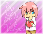 Valentine Guy Bookmark by nubpro