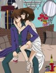 Mr. and Mrs. Kaiba by Cleopatrawolf