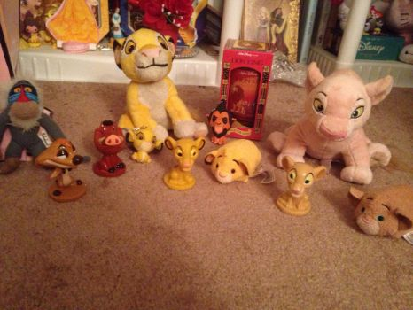 My Lion King Collection (So Far) by TheDisneyGoof
