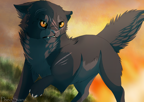 Yellowfang's Escape by Taunii