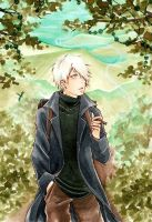 Mushishi : A green path by Tiara-C