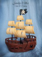 Pirate Ship by ArteDiAmore
