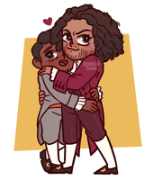 Madison and Jefferson by RoorenSama