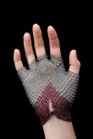 Beaded Glove - Back by ElizaFish
