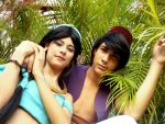 Disney. Aladdin And Jasmine by JhonkunAGM