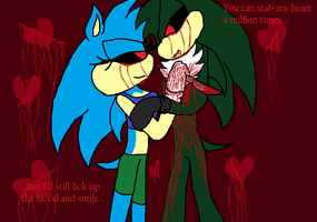 Im In Love With A Killer(Better and Newer Version) by AriatheHeadgehog