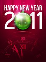 Happy New Year 2011 by kodomodo