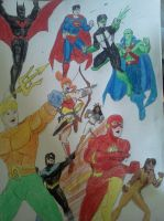 Justice League- Time Runs Amok by dhbraley