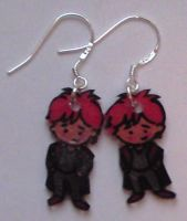Kawaii Ron Weasley earrings by Lovelyruthie